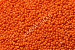OIL POLISHED RED FOOTBALL LENTILS